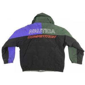 Vintage Nautica Competition Reversible Coat Jacket